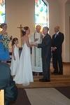 Exchange of vows.